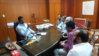 Meeting with Power Minister Aug 2017