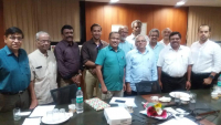 Mr Marathe with EC Members - 8th March 2019